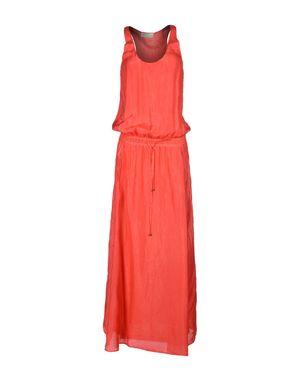 珊瑚红 ALYSI 长款连衣裙