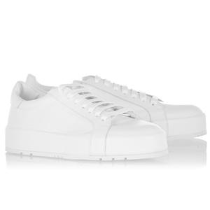 白球鞋Mix裤装