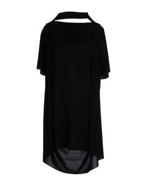 黑色 VIONNET 中长款连衣裙