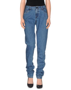 蓝色 PRADA 牛仔裤