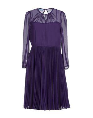紫色 PRADA 短款连衣裙