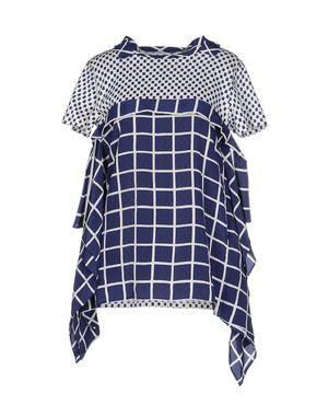 蓝色 PRADA 女士衬衫