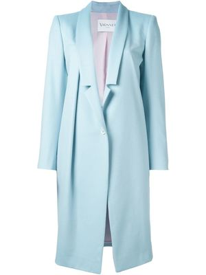 VIONNET single breasted coat