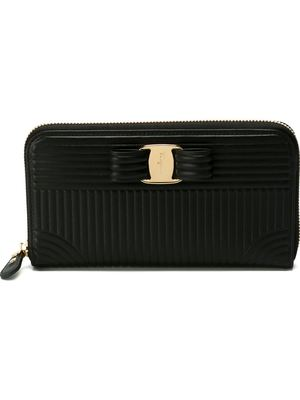 SALVATORE FERRAGAMO 'Vara' bow wallet