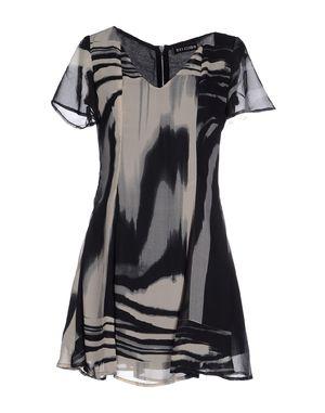 灰色 RELIGION 短款连衣裙