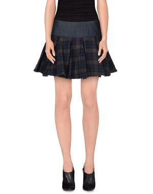 青灰色 BRIGITTE BARDOT 超短裙