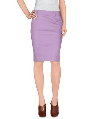 丁香紫 HANITA 及膝半裙
