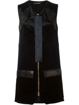 ROBERTO CAVALLI zipped shift dress