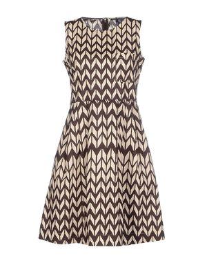 深棕色 WOOLRICH 短款连衣裙