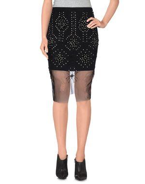 黑色 PINKO 及膝半裙