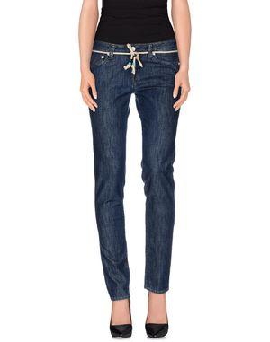 蓝色 FRED PERRY 牛仔裤