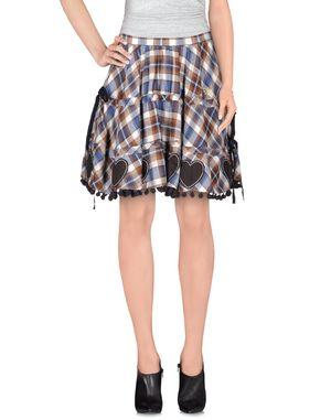 棕色 ATELIER FIXDESIGN 及膝半裙