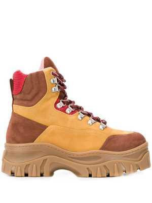 MSGM Tractor Trekking boots - NEUTRALS