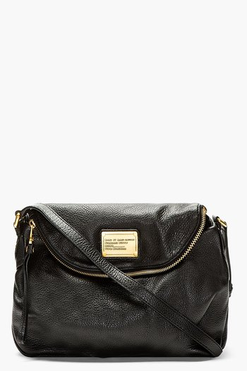 Marc By Marc Jacobs Black Classic Q Natasha Shoulder Bag
