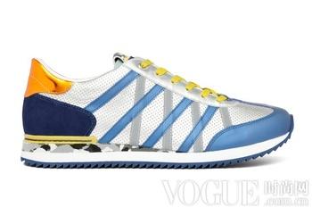 酷感十足 Dolce&Gabbana新款男装球鞋发布