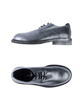 灰色 ANN DEMEULEMEESTER 系带鞋