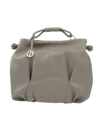 鸽灰色 GIORGIO ARMANI Handbag