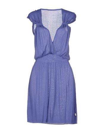 紫色 D.A. DANIELE ALESSANDRINI 短款连衣裙
