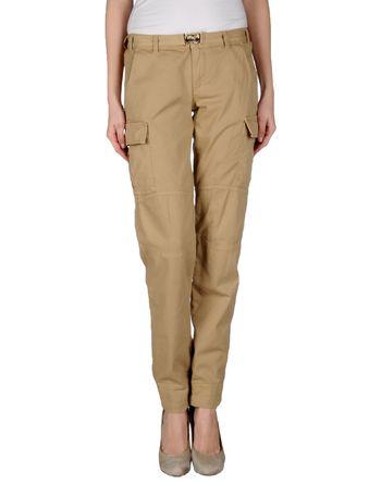 沙色 TWIN-SET JEANS 裤装