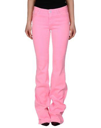 粉红色 TWIN-SET JEANS 牛仔裤