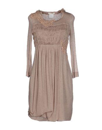 沙色 SCERVINO STREET 短款连衣裙