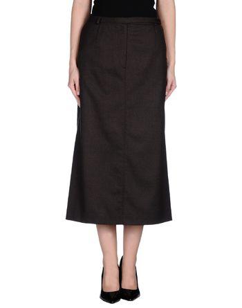 深棕色 AQUASCUTUM 半长裙