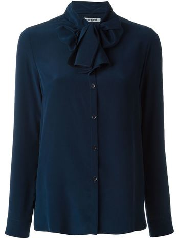 CACHAREL bow detail shirt