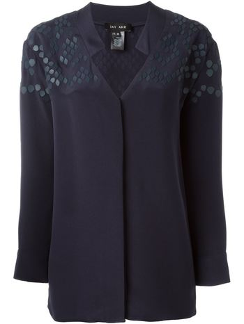 JAY AHR patterned blouse