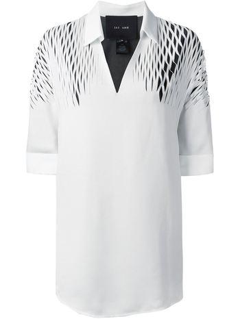 JAY AHR cut-out detail shirt
