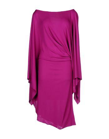 浅紫色 PLEIN SUD 中长款连衣裙