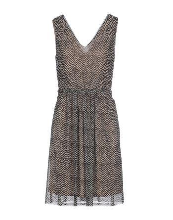 黑色 PENNYBLACK 短款连衣裙