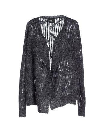 铅灰色 TWIN-SET JEANS 针织开衫