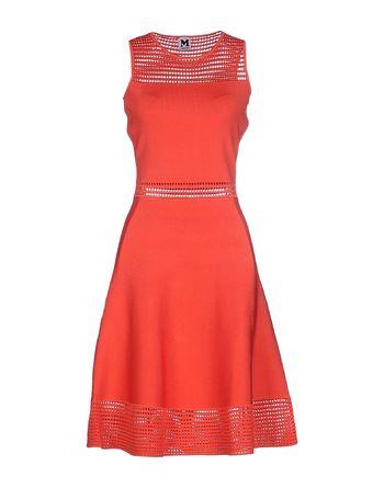 珊瑚红 M MISSONI 短款连衣裙