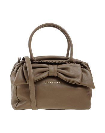 灰色 TWIN-SET SIMONA BARBIERI Handbag