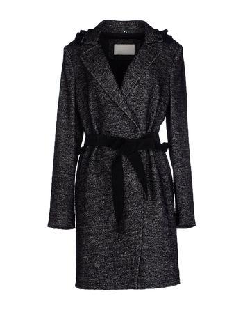 黑色 SCERVINO STREET 大衣