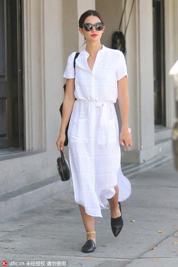 夏天穿对衬衫裙 不止显瘦那么简单