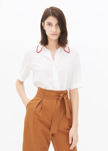 没有什么时髦 是白衬衣搞定不了的