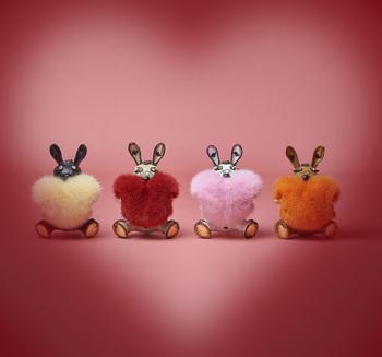 Love Rabbit甜蜜来袭 MCM致礼浪漫七夕