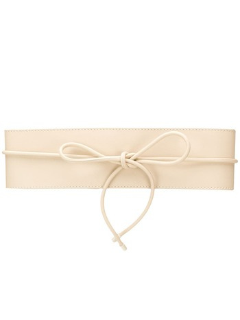 Zimmermann bow detail belt - Neutrals