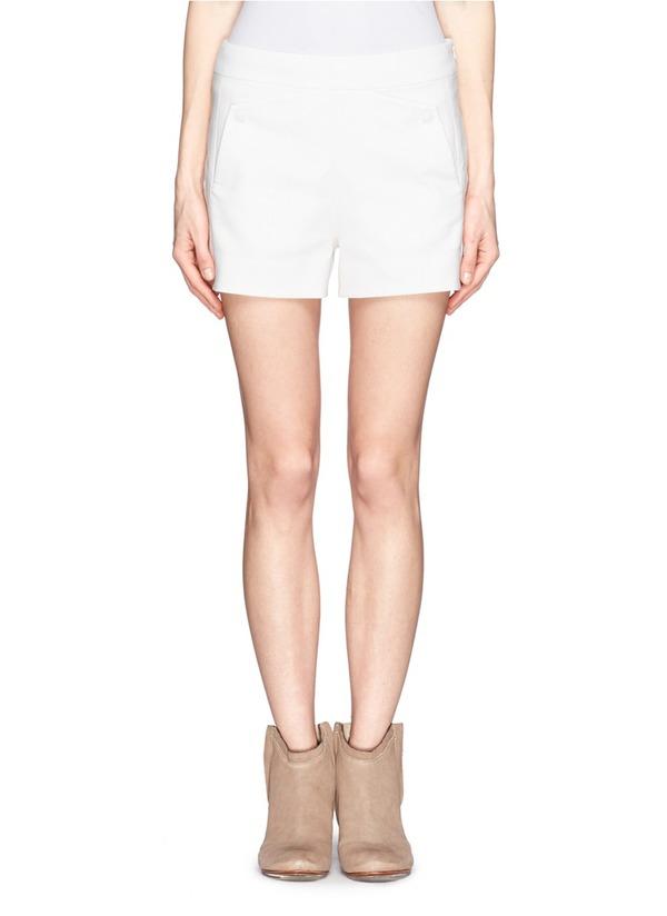 Farnsworth piqué sailor shorts
