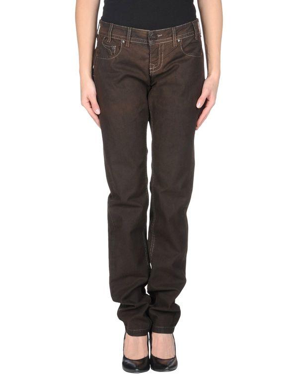 深棕色 PINKO 牛仔裤