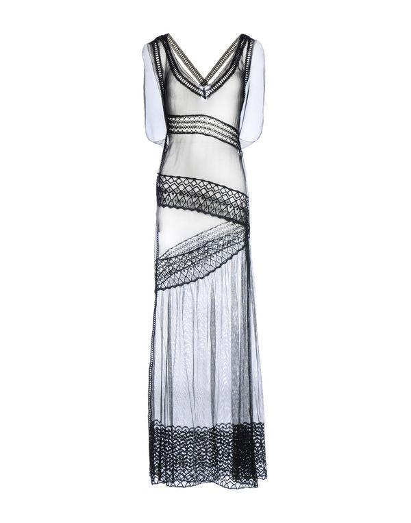 黑色 ALBERTA FERRETTI 长款连衣裙
