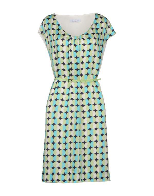 浅绿色 LALTRAMODA 短款连衣裙