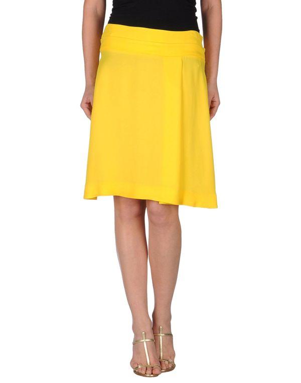 黄色 MARNI 及膝半裙