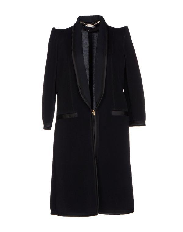黑色 JUST CAVALLI 大衣