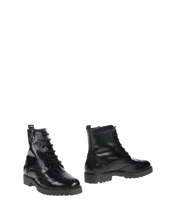 黑色 ARMANI JEANS 短靴