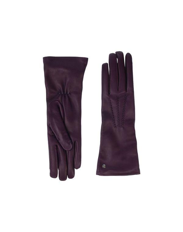 紫色 GIORGIO ARMANI 手套