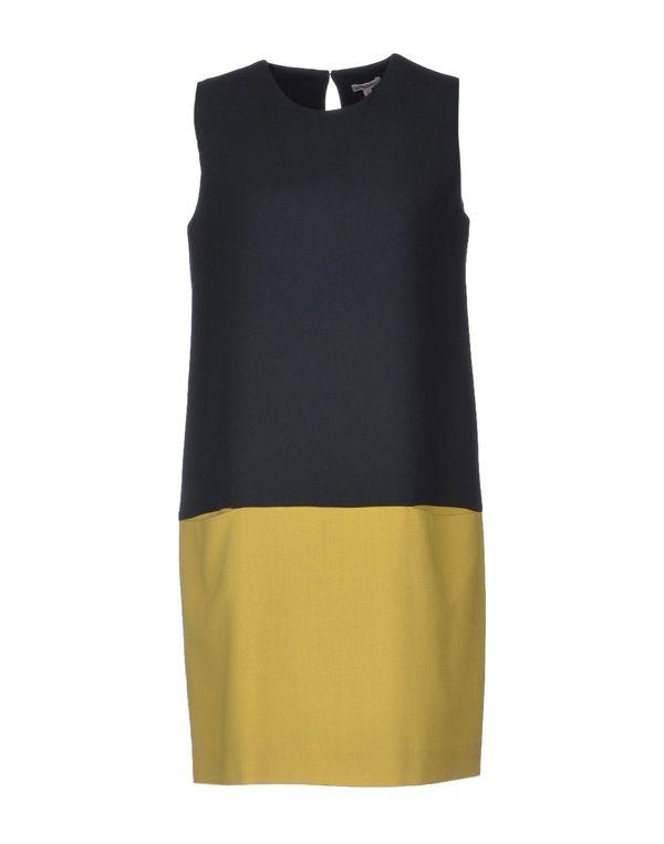 黄色 P.A.R.O.S.H. 短款连衣裙