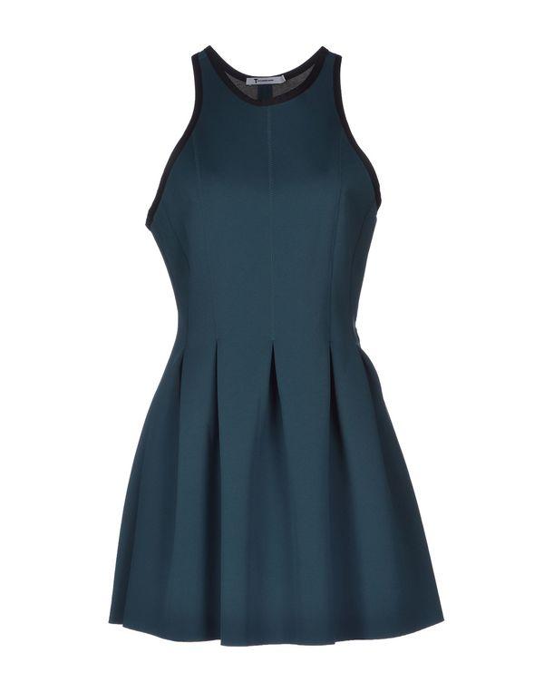 绿色 ALEXANDER WANG 短款连衣裙