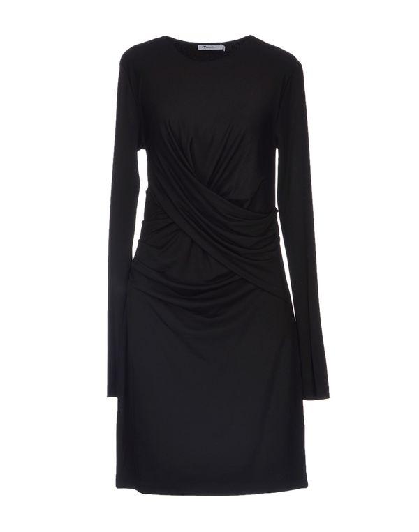 黑色 T BY ALEXANDER WANG 短款连衣裙